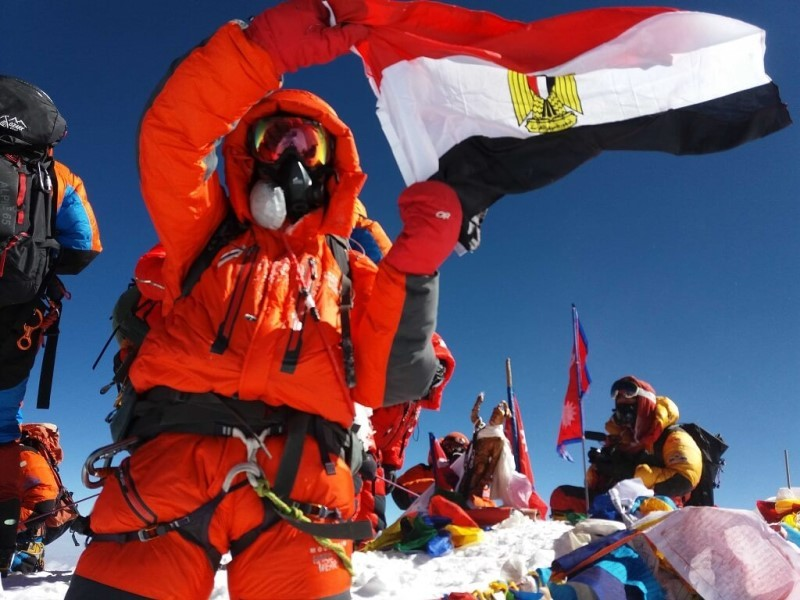 Egyptians at the top of the world
