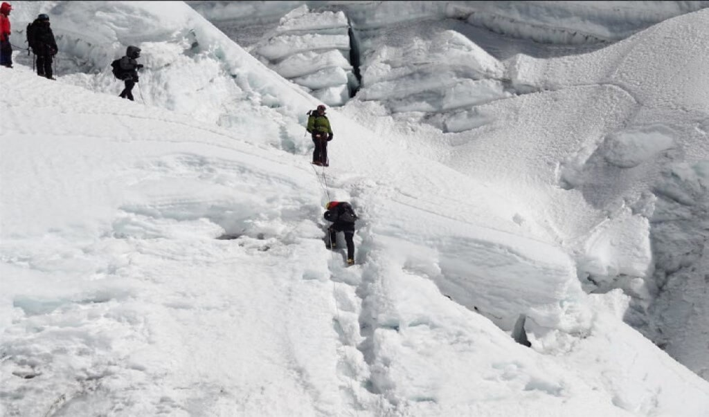 Ice Climbing in Everest