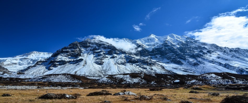 On the way to Kanchenjunga Base Camp