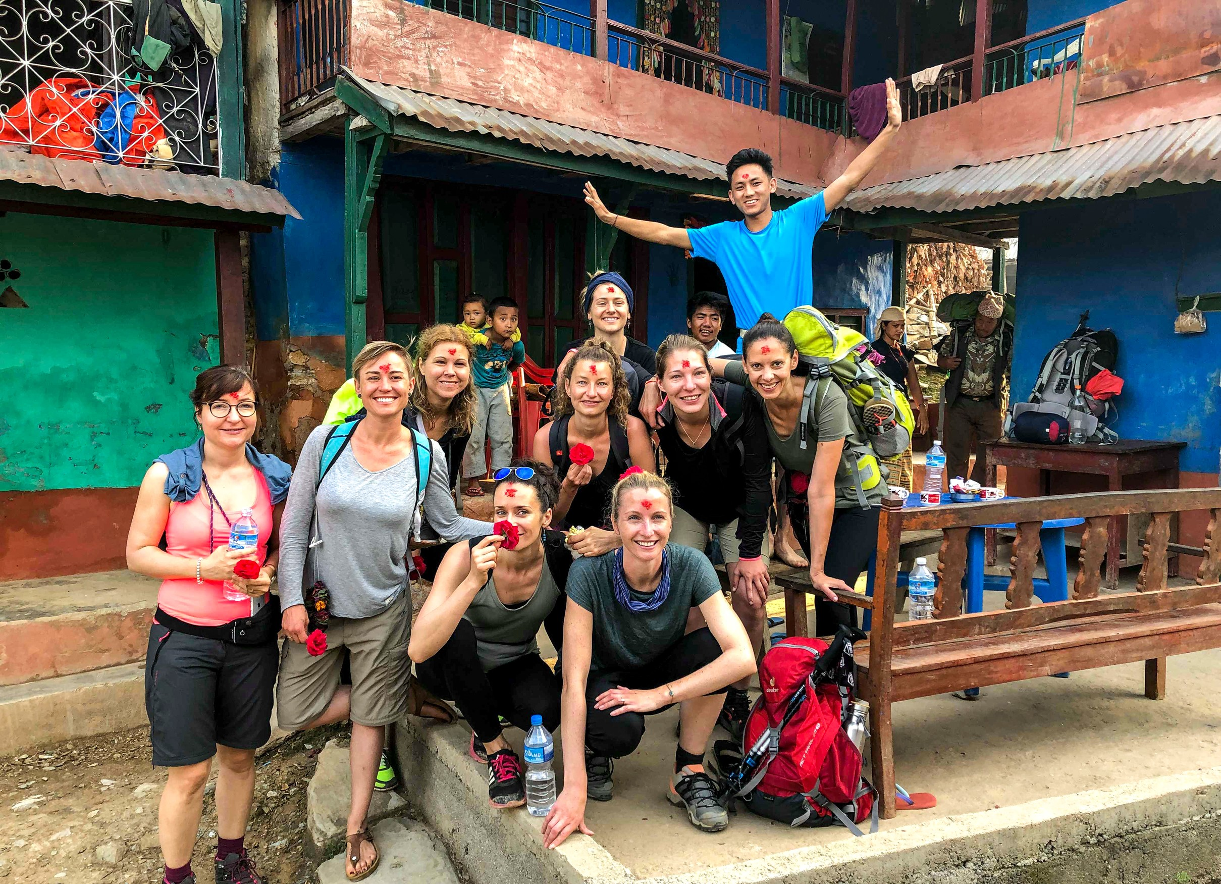 Women only tour to Millennium Homestay Trek