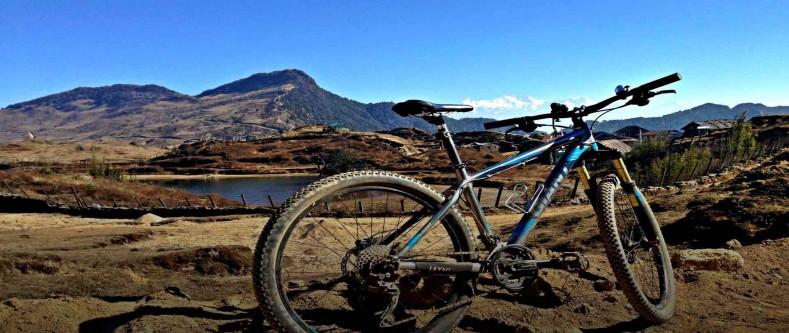 Easy Upper Mustang Mountain Biking