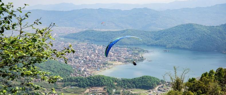 Paragliding- Pokhara