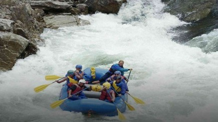 Sunkoshi Rafting in Nepal